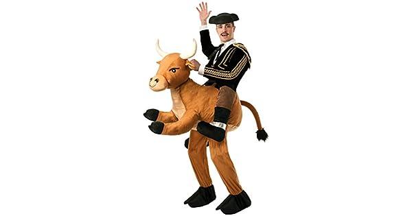 Amazon.com: Forum Novelties de Ride un disfraz de Bull ...