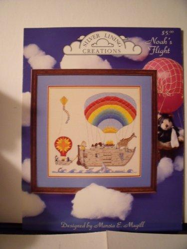 Silver Lining Cross Stitch Patterns - Noah's flight