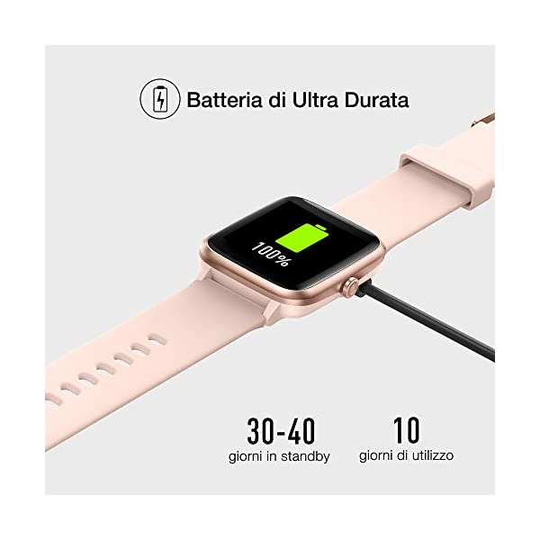 Smartwatch Orologio Fitness Donna, UMIDIGI Uwatch3 Fitness Tracker Bluetooth Smart Watch Donna Uomo Bambini… 5