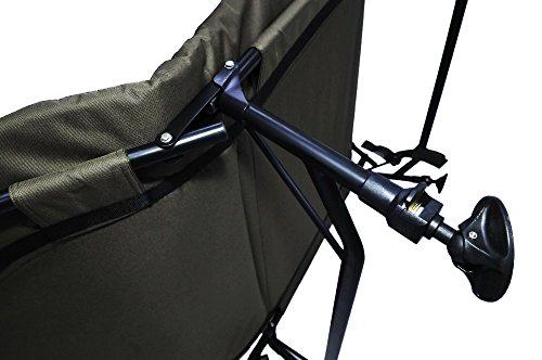 AMENITIES DEPOT Memory Foam 6-Leg Foldable Camping Single Bedchair Cot(202058) by AMENITIES DEPOT (Image #1)