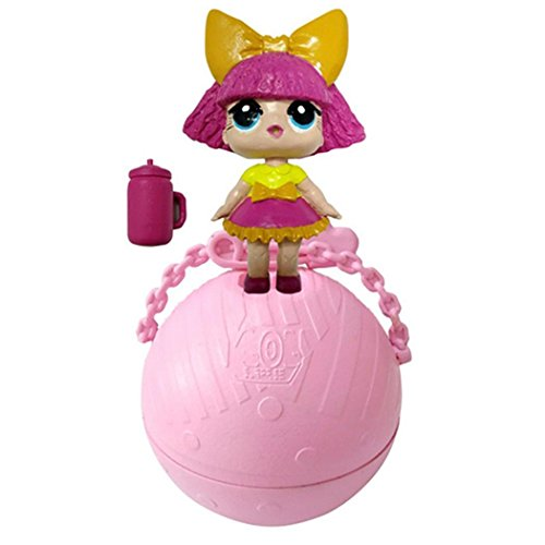 Kecooi Kids Adults Unisex Toys Cute Figure 5 Surprise Small Model Guardians Doll Surprise Ball Toys Doll by Kecooi