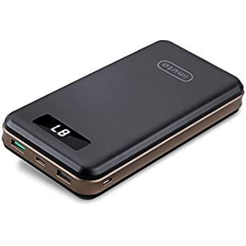 imuto portable charger 30000mah qualcomm quick charge 3 0 and usb c type c ports. Black Bedroom Furniture Sets. Home Design Ideas