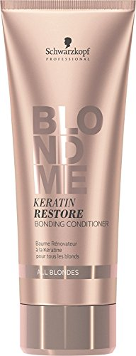 - BLONDME Keratin Restore Bonding Conditioner for All Blondes, 6.76-Ounce