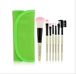 Professional 7Pcs Makeup Brush Set Kit Makeup Brushes & tools Brand Make Up Brush Set Case