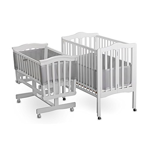 BreathableBaby Mesh Crib Liner Gray, Gray by BreathableBaby