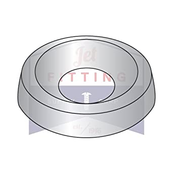 3//8 Countersunk Finishing Washers QUANTITY: 1000 Stainless Steel