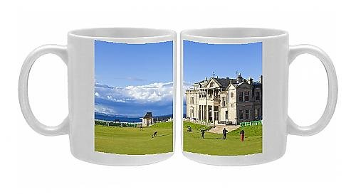 Photo Mug of Golf course and club house, The Royal and Ancient Golf Club of St. Andrews, St