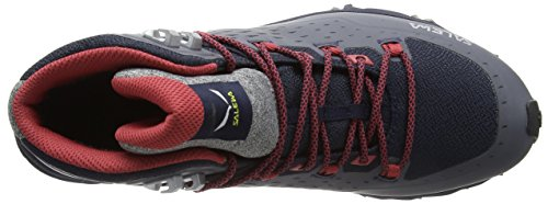 Salewa Mineral Mid Shoe Hiking Red Alpenrose Speed Black Night Ultra Women's Grey GTX Black fvnxFrAwfq