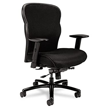 HON VL705 Mesh Back Leather Big and Tall Chair Reviews