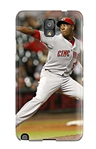 Nannette J. Arroyo's Shop cincinnati reds MLB Sports & Colleges best Note 3 cases