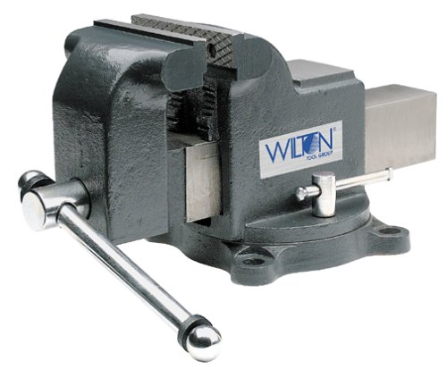 Wilton Model WS4 Jaw Width 4-Inch Throat Depth 2-3/4-Inch Shop Vise