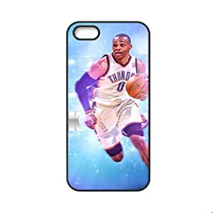 Printing With Russell Westbrook For Apple Iphone 5 Ip5S Nice Back Phone Cover For Guys Choose Design 1