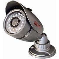 REVO America RCBS30-2 Indoor/Outdoor Bullet 600TVL Super High Resolution Camera - RJ12/BNC Type 80-Feet Nightvision