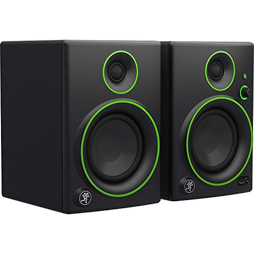 Mackie Studio Monitor, Black w/green trim, 4-inch (CR4BT)