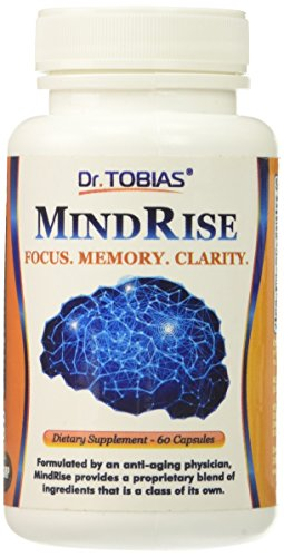 Dr. Tobias Mindrise Brain Function Support for Focus, Clarity & Memory Nootropic Supplement, 60 Count