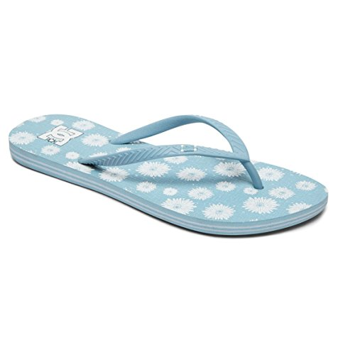 DC Shoes Spray Graffik - Flip-Flops - Sandalen - Frauen - EU 38 - Blau