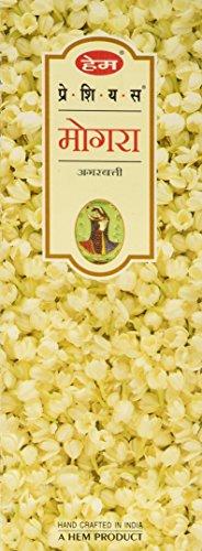 Precious Incense Mogra (Hem  Precious Mogra Incense Sticks, 120 Count)