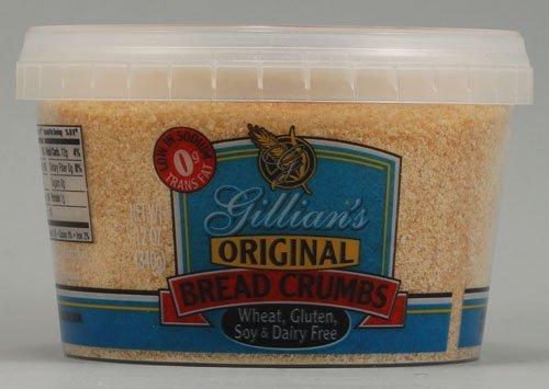 Gillian's Foods Bread Crumbs Gluten Free Original -- 12 oz - 2 pc