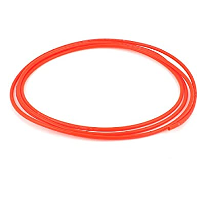 uxcell Polyurethane PU Air Compressor Hose Tube 3 Meter 6mm x 4mm Red