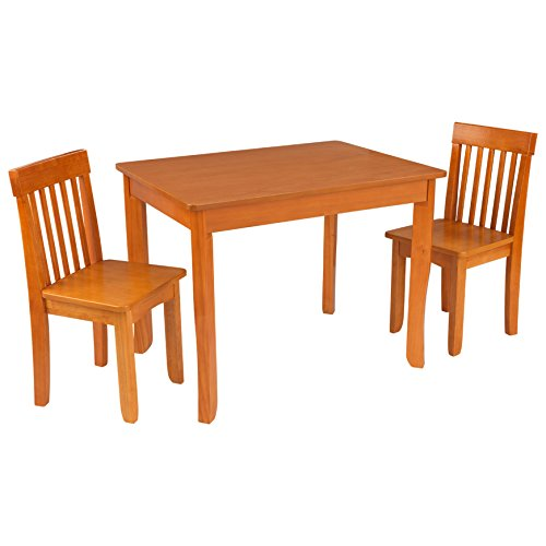 KidKraft Avalon Table II & Chairs Set, - Avalon Table Furniture Honey Kidkraft