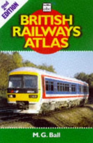 Map Railroad Rare Atlas (ABC British Railways Atlas (Ian Allan abc))