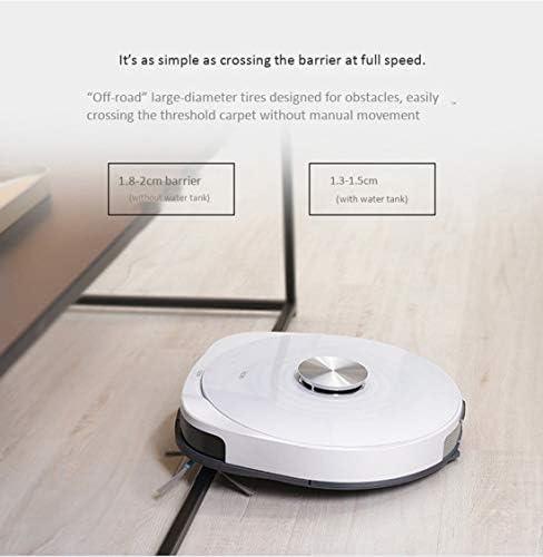 Gmjay Robot Muet Intelligent a La Maison de Balayeuse de Plancher D\'aspirateur de Robot Approprié Aux Planchers en Bois/Carrelages/Marbre/Tapis