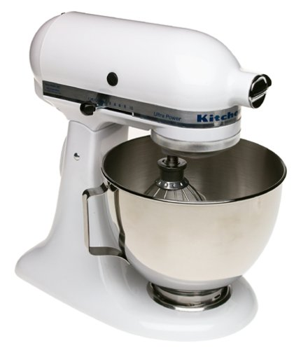 KitchenAid KSM90WH Ultra Power 300 Watt 4 1/2 Quart Stand Mixer