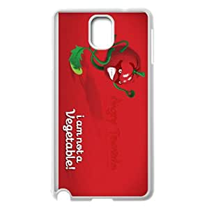 angry tomato Samsung Galaxy Note 3 Cell Phone Case White custom made pgy007-9030926