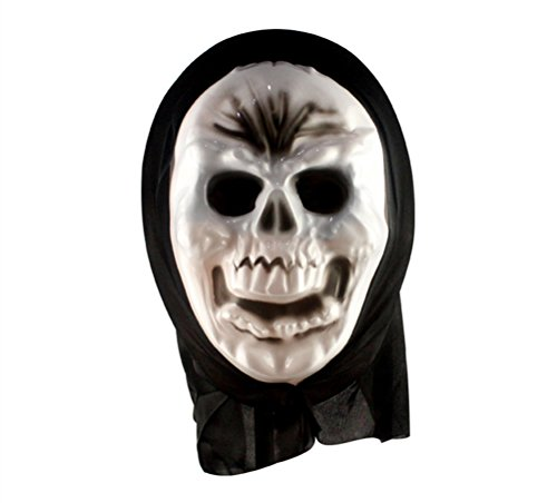 Huafeiwude Halloween Horror Terror Party Costume Cosplay Fancy Ball Mask Style 4