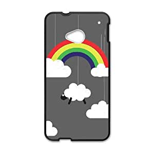 HTC One M7 Cell Phone Case Black_NOT MY DAY Ovxdx