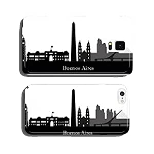 Buenos Aires city skyline silhouette. vector illustration cell phone cover case iPhone6
