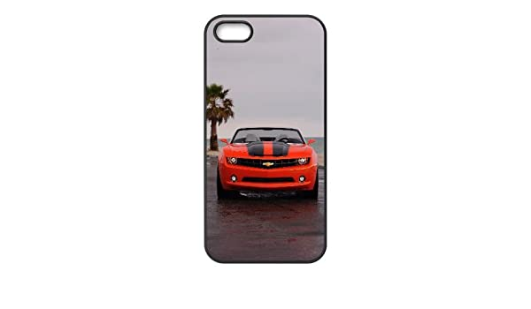 iPhone 4 4s Chevrolet Camaro AUTO celular negro TPU funda SV_139588: Amazon.es: Electrónica