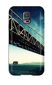 Unique Design Galaxy S5 Durable Tpu Case Cover Golden Gate Bridge