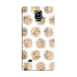 Cover It Up - Sand Star White Galaxy Note 4 Hard Case