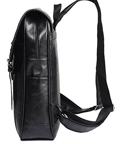 d'embrayage Dacron Sacs bandoulière Noir main à Odomolor École à Mode Sacs Femme 0Tx4qaw1
