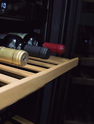 NODOR V 61 B Einbau-Weinkühler Edelstahlrahmen 61 Flaschen 3 Temperaturzonen