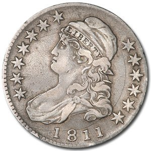 1811 Capped Bust Half Dollar XF Half Dollar Extremely Fine