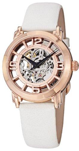 Stuhrling Original Women's 156.124W14 Winchester Automatic Skeleton Rose Watch