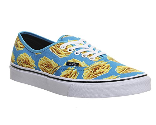 Night Vans Authentic Late Blue Fries qvIpvw