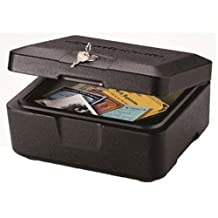 SentrySafe 500 Fire-Safe Box, 0.15 Cubic Feet (Black)