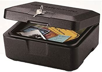 SentrySafe 500 Black Fire Safe Box 0.15 Cubic Feet