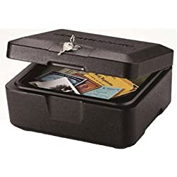 SentrySafe Fire Safe, Fire Resistant Chest, 0.2 Cubic Feet, Extra Small, 0500