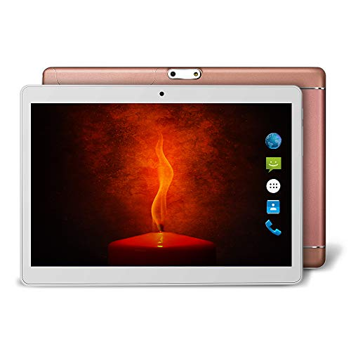 Yuntab K98 9.6 Inch A7 MT6580,1.3Ghz Quad Core Google Android 5.1 Tablet PC,1G+16G,HD 800x1280,Dual Camera,4500MAh Battery,WiFi,GPS,G-Sensor,Support SD/MMC/TF Card (Rosegold)
