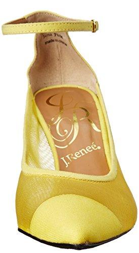 J.renee Mujeres Jena Dress Pump Yellow