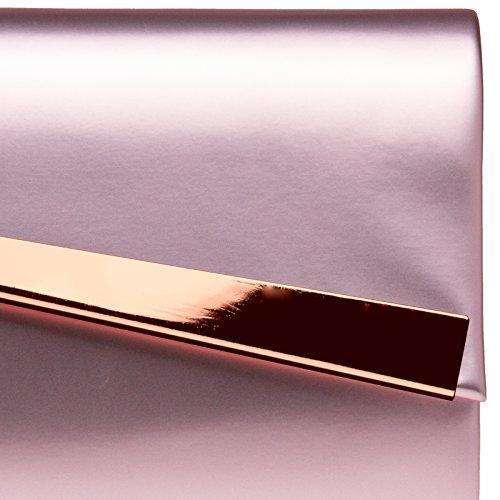 de à TA428 soirée CASPAR femme métallique pour main sac de femme pour Rose soirée clutch sac Pochette qSEC4dx7w