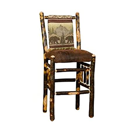 Enjoyable Amazon Com Furniture Barn Usa Set Of Two Rustic Hickory Pdpeps Interior Chair Design Pdpepsorg