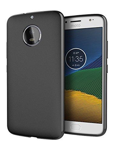 Moto G5S Plus GS5+ Case, Cimo [Matte] Premium Slim Protective Cover for Motorola Moto G5S Plus GS5+ - Black