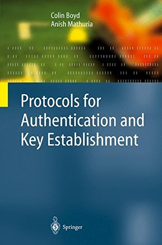 Download Protocols for Authentication and Key Establishment (Information Security and Cryptography) Pdf