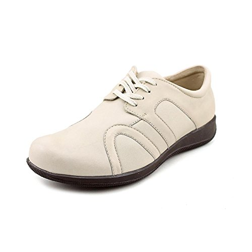 SoftWalk Women's Topeka,Off White Soft Nappa Leather/Stretch,US 7 N (Nappa Stretch Footwear)