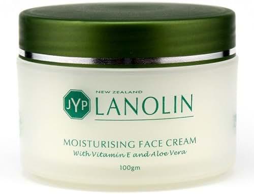 JYP New Zealand Lanolin Moisturizing Face Cream with Vitamin E and Aloe Vera, 100g